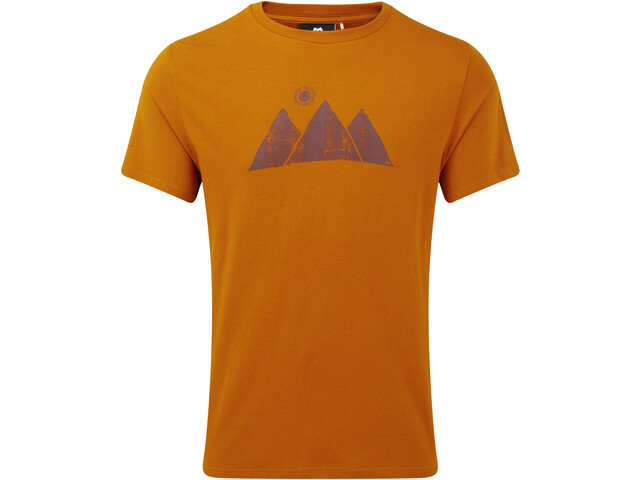 Mountain Equipment Mountain Sun Tee Men Pumpkin Spice